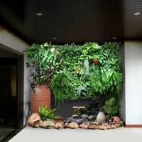 室内艺术植物墙