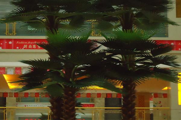 仿真棕榈树形态逼真