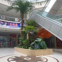 仿真椰子树商城装饰