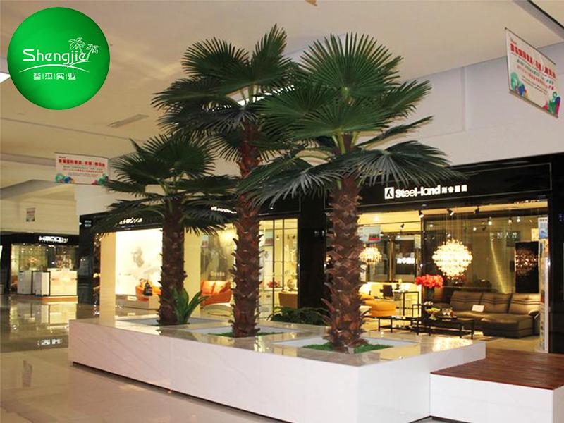 国外商城仿真棕榈树