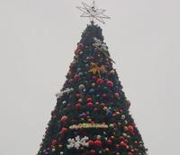 惠州沙田12米高仿真圣诞树