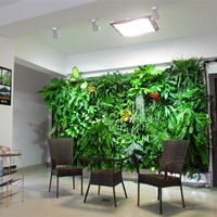 办公会客厅植物墙