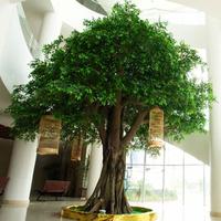 仿真榕树图片树效果图