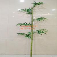 2米高绿中竹,2米叉竹