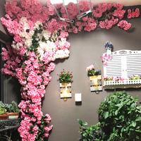贴墙仿真樱花树,仿真樱花树藤