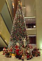 大型室内仿真圣诞树