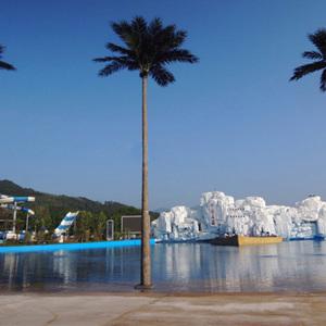 水上乐园仿真椰子树