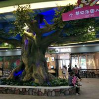 梦幻乐园仿真榕树