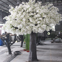 玻璃钢仿真樱花树制作
