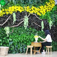 办公室仿真植物墙
