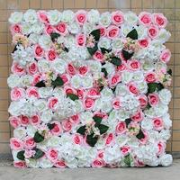 玫瑰花花墙室内植物墙仿真植物墙