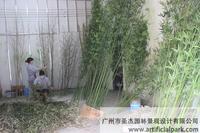 定做人造假竹子