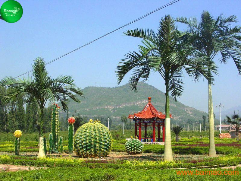 仿真椰子树景点造景