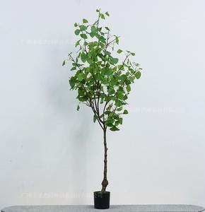 仿真绿银杏树