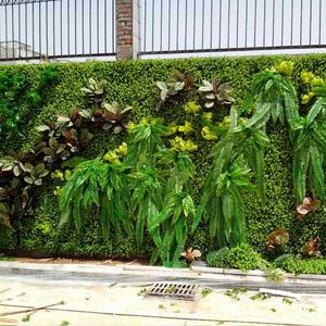 户外行道植物墙