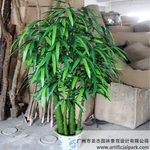 仿真竹子盆景