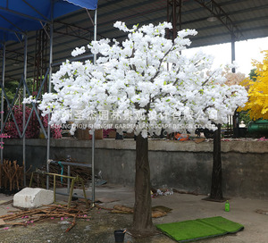 人造仿真假樱花树