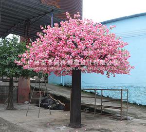 双色仿真樱花树