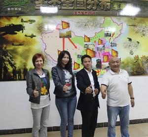 哈萨克斯坦客户朋友来访圣杰