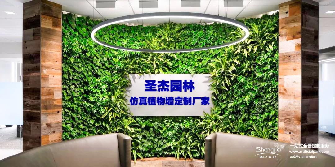 圣杰仿真植物墙定制厂家