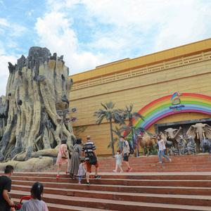 广州市安华汇欢乐舟主题乐园景观园林打造