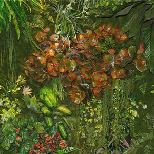 人造艺术植物墙