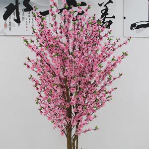 仿真桃花树安装