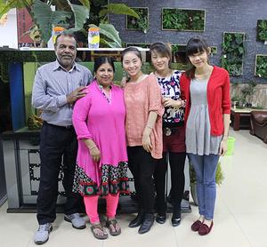 印度客户朋友来访圣杰