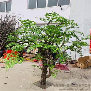 仿真绿枫树图片