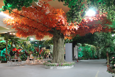 仿真红枫树