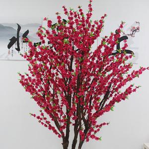 双色仿真桃花树