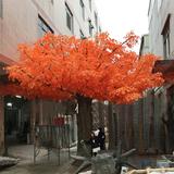 大型仿真枫树、室外仿真枫树制作