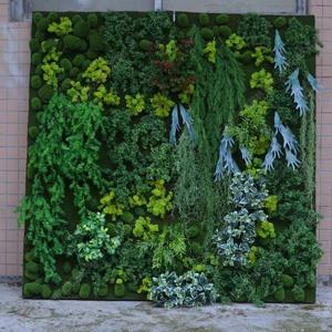 植物墙、室内外仿真植物墙、绿植墙