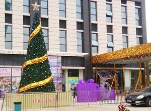 佛山顺德8米高仿真圣诞树