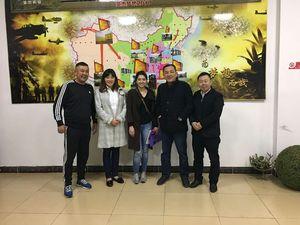 哈萨克斯坦客户在圣杰集团