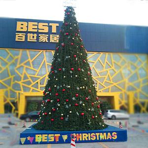 广州番禺10米高圣诞树