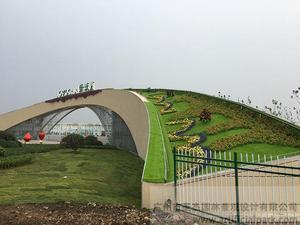 山东绿沃川大门景观建设